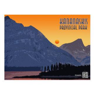 Carte Postale Kananaskis, Alberta. Le Canada