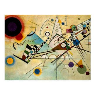 Carte Postale Kandinsky - composition VIII