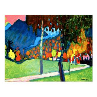 Carte Postale Kandinsky - étude d'automne dans Oberau