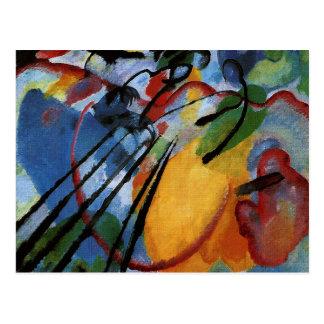 Carte Postale Kandinsky - improvisation 26, ramant
