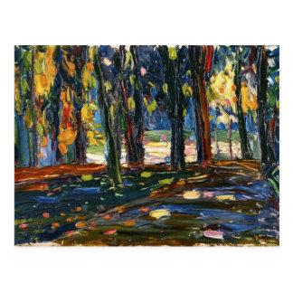 Carte Postale Kandinsky - parc de nuage de St, automne II