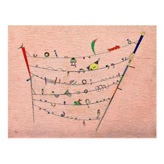 Carte Postale Kandinsky - petits accents