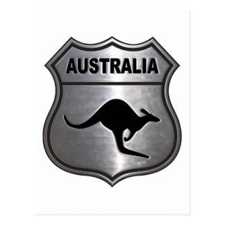 Carte Postale Kangourou de l'Australie