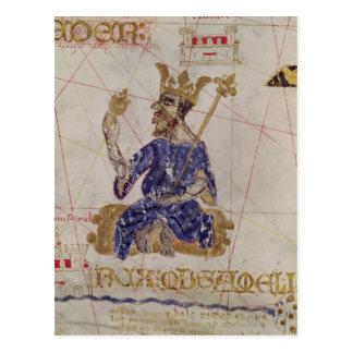 Carte Postale Kankou Mousa, roi du Mali