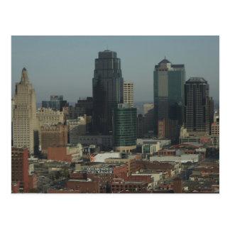 Carte Postale Kansas City du centre