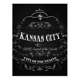 Carte Postale Kansas City Missouri - capital de BBQ du monde