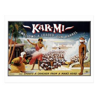 Carte postale Kar-MI