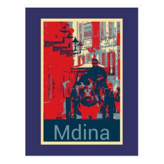 Carte Postale Karrozin dans Mdina