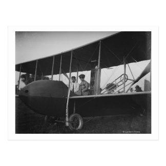 Carte Postale Katharine Wright avec Orville dans le modèle HS