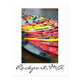 Carte Postale Kayaks dans Rockport, mA