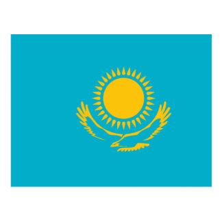Carte Postale Kazakhstan, drapeau de Kazakhstan