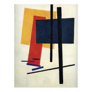 Carte Postale Kazimir Malevich- Suprematism