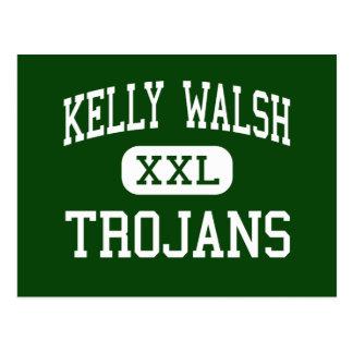 Carte Postale Kelly Walsh - Trojan - haut - Casper Wyoming