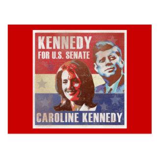 Carte Postale Kennedy commence la campagne pour le sénat