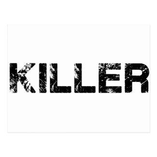 Carte Postale Killer