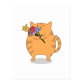 Carte Postale Kitty reconnaissant