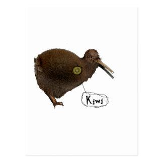 Carte Postale Kiwi au coeur