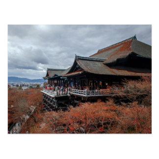 Carte Postale Kiyomizu-dera de Kyoto