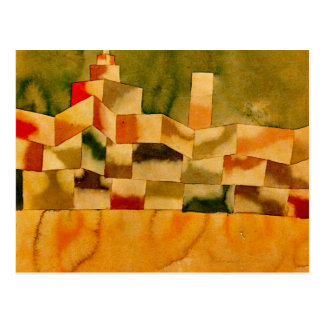 Carte Postale Klee - architecture orientale