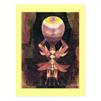 Carte Postale Klee - baie sauvage, peinture de Paul Klee