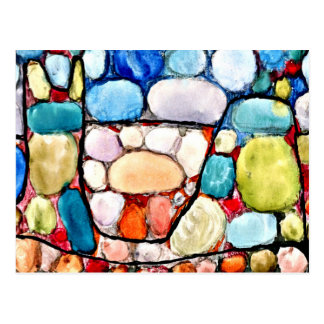 Carte Postale Klee - trésor au-dessus de la terre