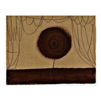Carte Postale Klee - une fleur exécute