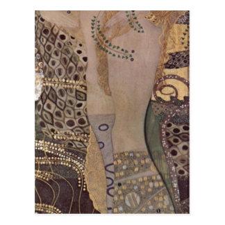Carte Postale Klimt, Gustav Wasserschlangen I (Th de Freundinnen