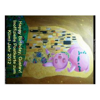 Carte Postale Klimt-Jahr-2012