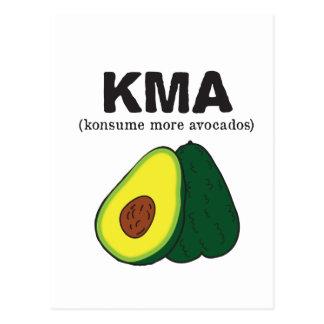 Carte Postale kma. (konsume plus d'avocats)