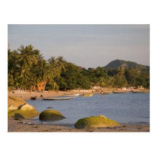 Carte Postale Ko Phangan, Thaïlande. En dehors de l'île agitée