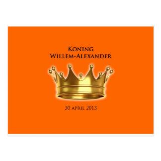 Carte Postale Koning Willem-Alexandre