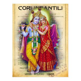 Carte Postale Krishna