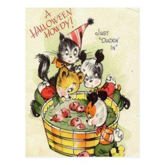 Carte Postale KRW Halloween vintage allo mignon