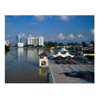 Carte Postale Kuching, capitale de Sarawak, Malaisie