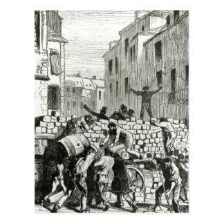 Carte Postale La barricade