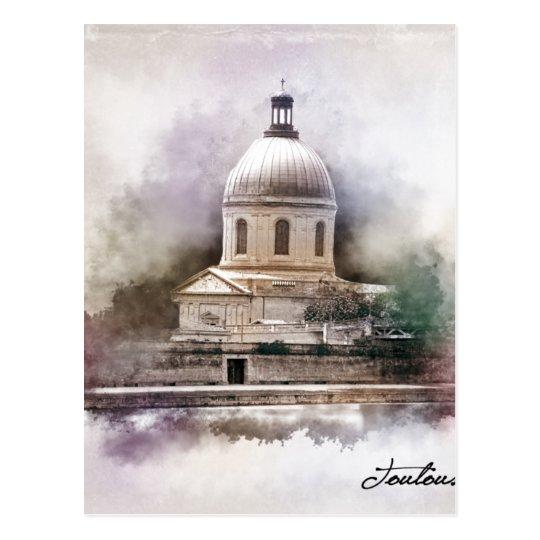 Carte Postale La Basilique Saint-Pierre de Toulouse.