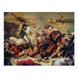 Carte Postale La bataille d'Aboukir, le 25 juillet 1799