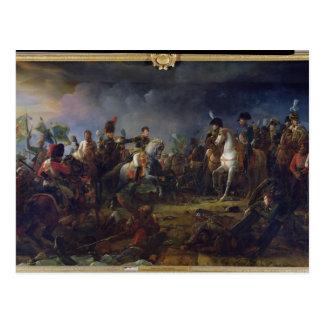 Carte Postale La bataille d'Austerlitz