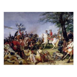 Carte Postale La bataille de Fontenoy, le 11 mai 1745, 1828