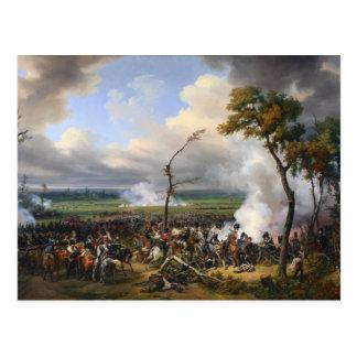 Carte Postale La bataille de Hanau par Horace Vernet (1824)