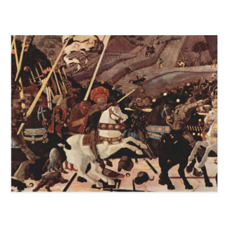 Carte Postale La bataille de la partie II de romano de San