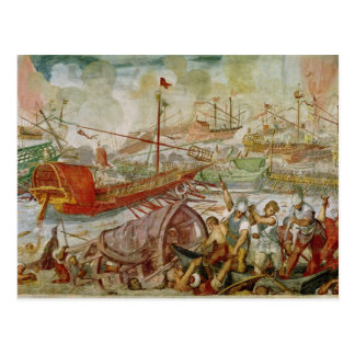 Carte Postale La bataille de Lepanto, octobre 1571, 1600
