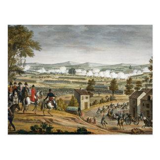 Carte Postale La bataille de Lutzen, le 2 mai 1813, gravée par