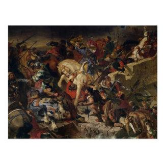 Carte Postale La bataille de Taillebourg, le 21 juillet 1242,