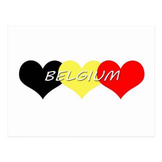 Carte Postale La Belgique