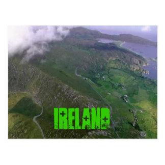 Carte Postale La belle côte irlandaise