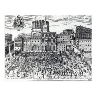 Carte Postale La bénédiction de pape Pius V