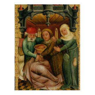 Carte Postale La bénédiction volée du haut autel