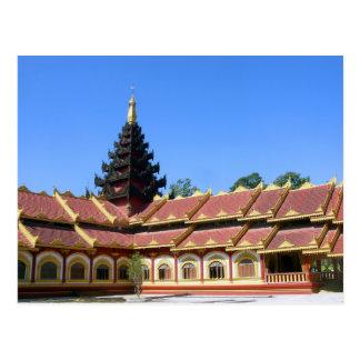 Carte Postale La birmanne Keng de Phra Jow de temple bouddhiste
