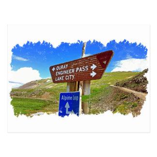 Carte Postale La boucle alpine